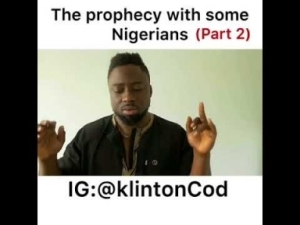 Video: KlintonCod – The Prophesy With Some Nigerians Part 2